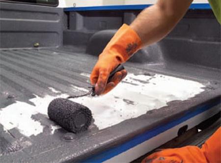 Grey Bed Liner Spray Can