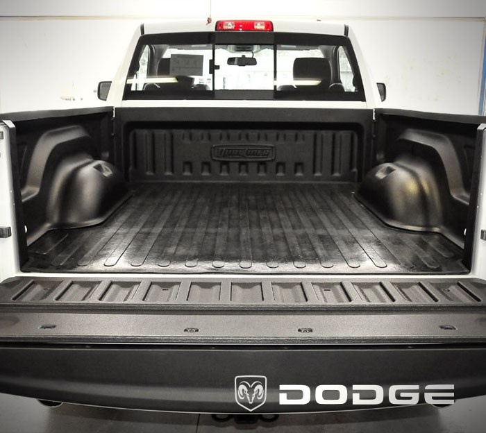 2003 to 2006 Dodge Ram 2500 - Long 8 ft Bed w/ Bolt-In tiedowns