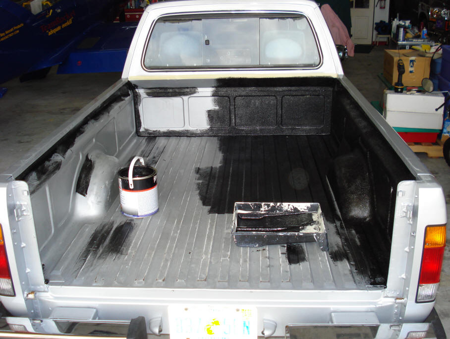 do it yourself spray in bedliner or Roll On Liner