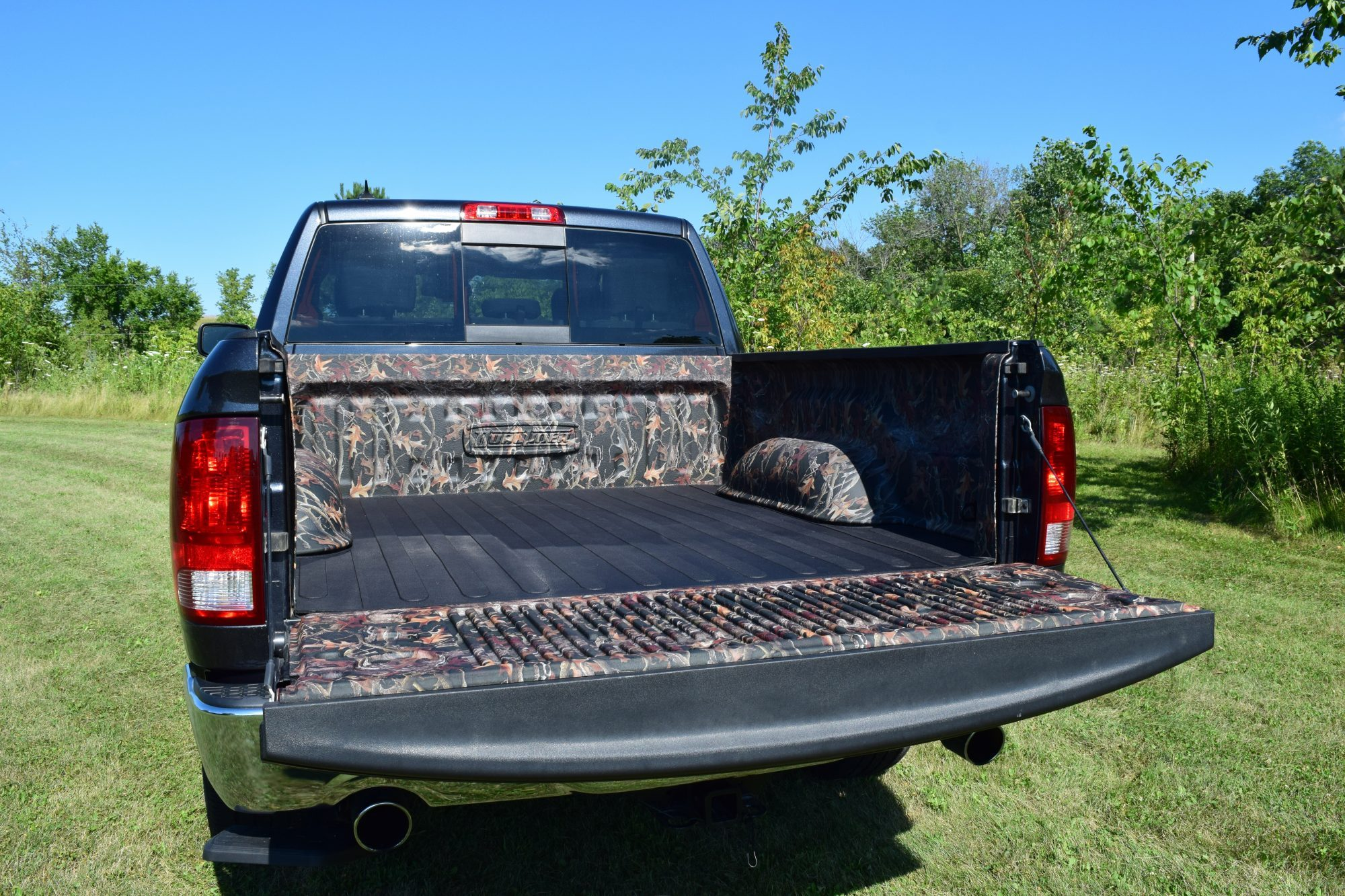 Customize Your Truck with a Camo Bedliner from DualLiner