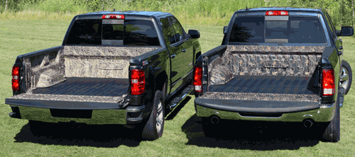 camouflage bedliner for pickup trucks for hunting