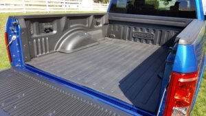 Finished DualLiner installed in a truck