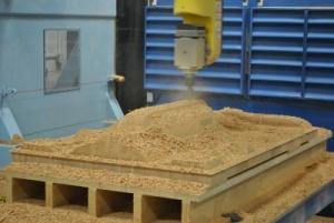 DualLiner CNC Wood Prototype