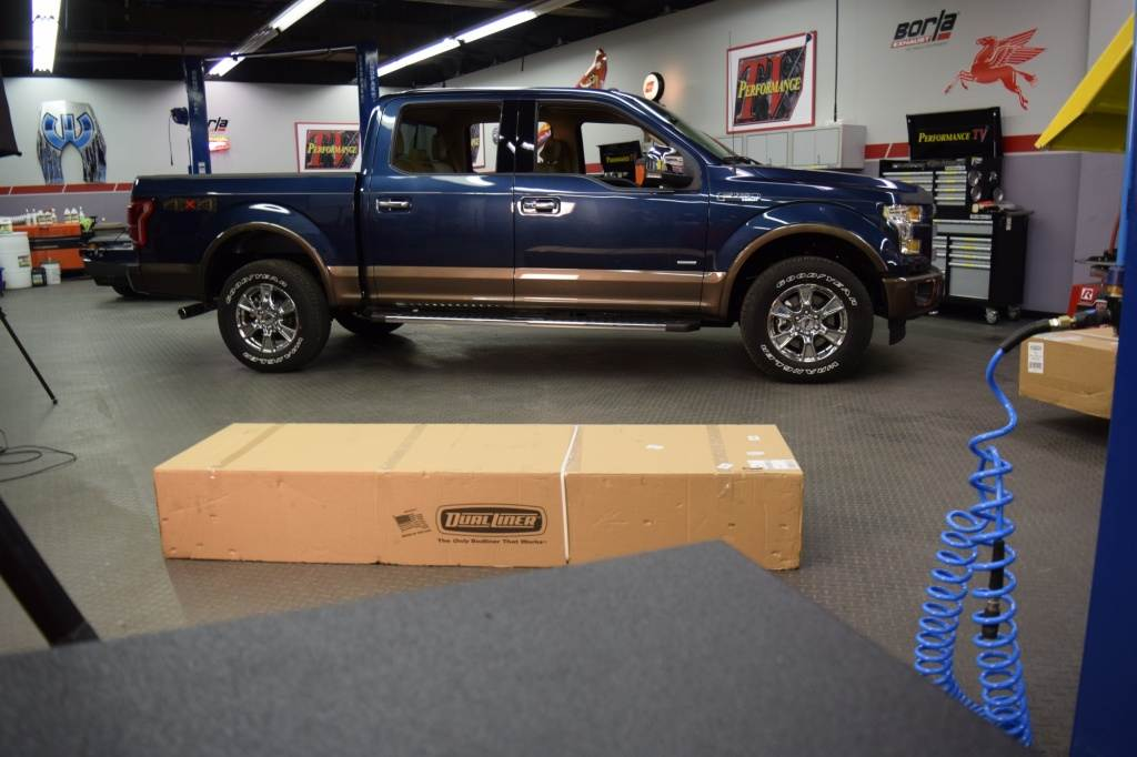 Our Demonstration F-150 Behind The Scenes
