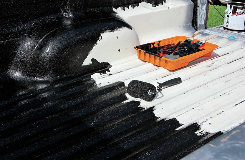what is the best diy truck bed liner