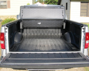 The Tonneau Cover Friendly Bed Liner