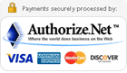 Authorize.Net 100% Secure Processing