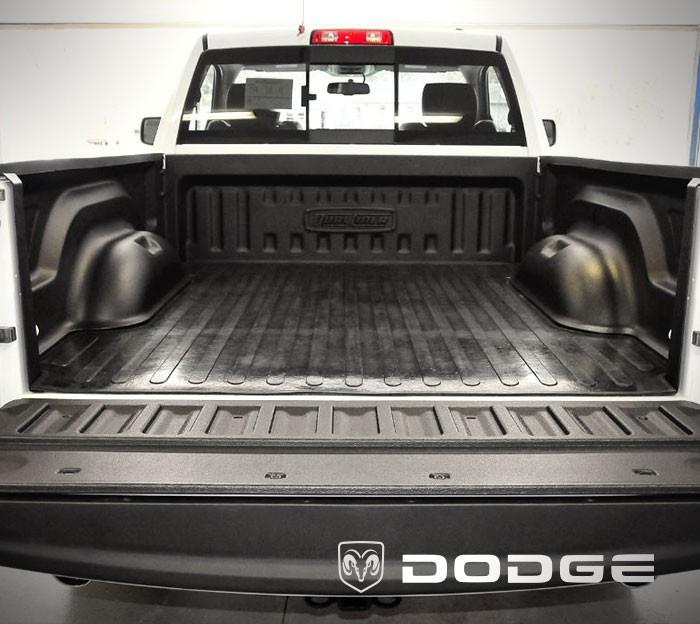 2008 to 2009 Dodge Ram 1500 - Long 8 foot Bed w/ Weld-In tiedowns