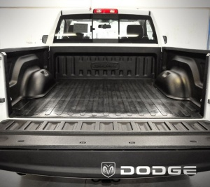 2008 to 2009 Dodge Ram 1500 - Standard 6ft 4in Bed w/ Weld-In tiedowns